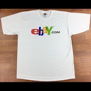 Vintage eBay.com Graphic Men's T-Shirt Size XL